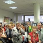 Setkání knihovníků - prohlídka Městské knihovny Blansko