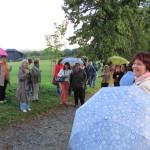 Setkání knihovníků - procházka Novodvorskou alejí