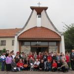 Setkání knihovníků - prohlídka veselické kapličky